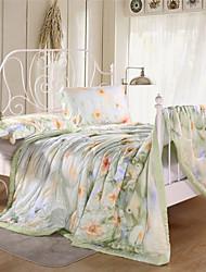 Queen Floral Summer Quilts Girls Tencel