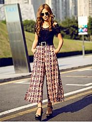 Pantalones ( Gasa )- Casual Mujer