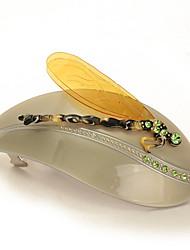 Hairpin Made of Acetate Material with Austria Rhinestone , High-grade Hair Accessories New Design Hair Clip