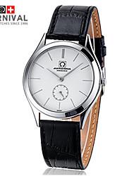 Two Simple Fashion JIANIANHUA Ultra-Thin Needle Quartz Watch Waterproof Belt Watch Watch
