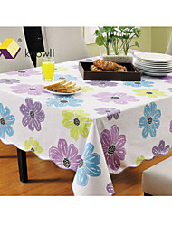 Knowll Table Cloth Tasteless Environmental Protection Waterproof Table Cloths Hotel Table Linens PVC Tablecloths