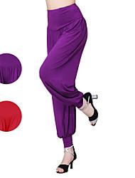 Latin Dance Bottoms Women's Performance/Training Modal 1 Piece Purple/Red