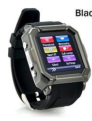 Tecnologia Vestível - Relógio inteligente Bluetooth 2.0 -Chamadas com Mão Livre/Controle de Mídia/Controle de Mensagens/Controle de