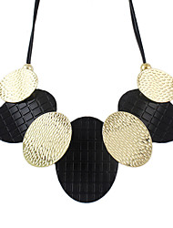 Necklace Statement Necklaces Jewelry Party / Daily / Casual Fashion Alloy / Lace Silver 1pc Gift