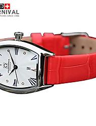 Montre bracelet - Quartz - Cuir - pour Femme