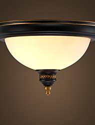 Simple Pastoral Ceiling Lamps Bronze Phnom Penh American Country European Ceiling Lamps Corridor Lamp