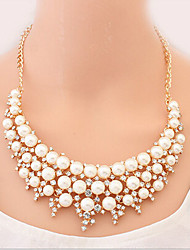 New Arrival Fashional High Quality Rhinestone Pearl Necklace