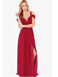 Mani Women's Sexy Dresses (Chiffon)