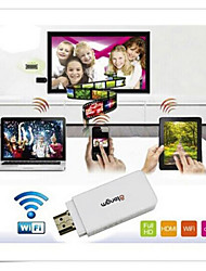 Atongm S1 Wi-Fi DLAN EZMirror Miracast Airplay Display HDMI TV Dongle for Android IOS Mobile phone (White)