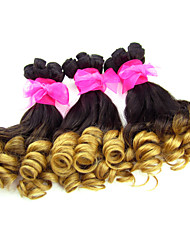 "3Pcs/lot ,12""-18"" Ombre hair Extensions ,Funmi Hair ,Factory Wholesales Raw Human Hair Weaves."
