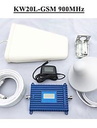 gsm repetidor de sinal GSM 900MHz lintratek sinais de telefonia móvel 900 repetidor impulsionador define LCD gsm repetidor