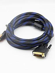 3m / 10ft full hd 1080p HDMI v1.3 mâle vers DVI (24 + 1) mâle câble d'extension de l'adaptateur de convertisseur m / m