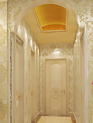 New Rainbow™ Classical Wallpaper Art Deco Gold foil wallpaper Wall Covering Non-woven Paper Wall Art