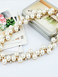 New Arrival Hot Selling Fashional Rhinestone Pearl Necklace