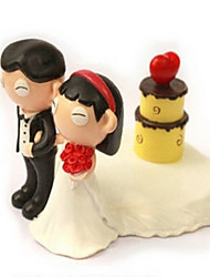 Cake Toppers The Bride And Groom Paper Towel Holder