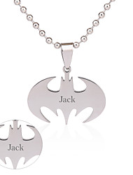 Gift Groomsman Customize Gift Men's Bat Pendant