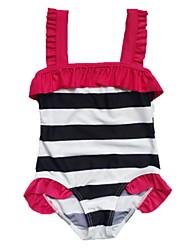 2015 Retail-Cute Girls Swimwear Tankini Bather Beach Bikini Swimsuit Tutu Skirt  3-10Y 1Pc Set