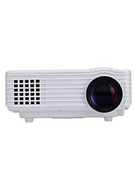 1080p HD portatile di 800 lumen ha condotto il proiettore con uscita TV per il teatro domestico / incassi / educazione