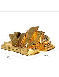 Sydney Opera House P022 3D-Stereo-Metall-Puzzle diy Gebäudemodell Spielzeug Erwachsenen Puzzle