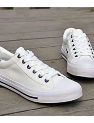 Men's Shoes Casual Canvas Fashion Sneakers White