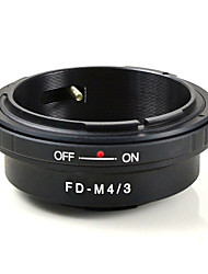 mengs® fd-m4 / 3 monture d'objectif anneau adaptateur pour canon de la lentille pour Olympus E-P1 et Panasonic G1 gh1- m4 / 3 corps de la