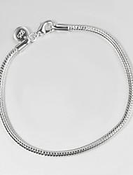 argento placcato casuale link / chain braccialetto carter amore braccialetto nuovi prodotti gioielli Tous