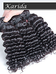 3 pieces/lot Cheap Unprocessed Malaysian Hair Weave,Malaysian Hair Weave Deeo Curly Hair Wavy