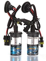 Car H13 35W 12000K HID Xenon Headlight Light Lamp Bulb (2PCS)