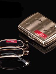 Mincl Rectangle Full-Rim Reading Glasses