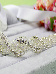 Women Rhinestone Hair Band Wedding Headpiece