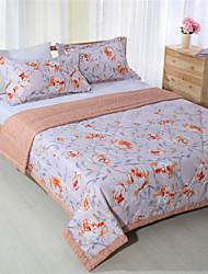 couettes d'été imprimés floral patchwork pour les filles de lits queen size de 100% de coton