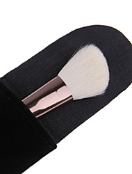 Lashining Professional Angle Blush Brush Soft Cosmetic Tool Gift One Black Flannelette