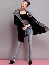 Women's Waist Hole Jeans