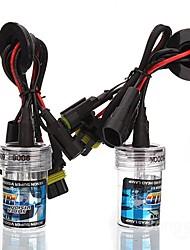 Car 9006 35W 6000K HID Xenon Headlight Light Lamp Bulb (2PCS)