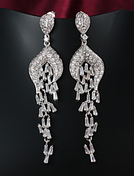 Party/Casual Gold Plated Drop Earrings New Products Necklace And Earring Set Earring Display