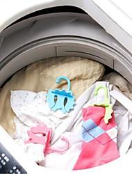 doces coloridos multi-função bola lavanderia magia e cabide (cor aleatória)