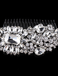 Vintag Party Bridal Bridesmaid Diamond/Rhinestone/Crystal  Bridal Hair Comb For Women
