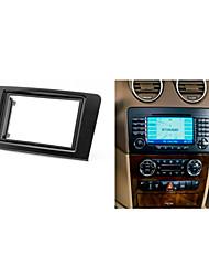 fascia radio de voiture pour mercedes gl klasse façade plaque de recouvrement de la trousse de bord garniture de benz