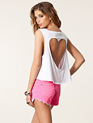 Women's Casual Straps Sleeveless Vests (Cotton)