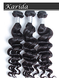 3 pcs/Lot Unprocessed Virgin Peruvian Hair, No Tangle and No Shedding Wholesale Peruvian Natural Wave Hair Weaving