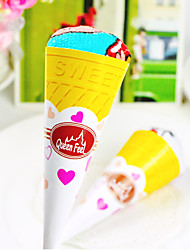 Cartoon Ice Cream Cake Towel Box (Set of 6)