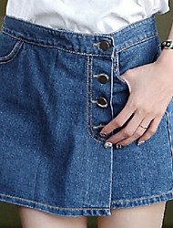 Women's Bodycon Jeans  Divided Skirts
