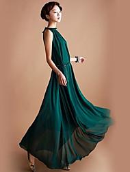 Ya Zhe Women'S Luxury Elegant Chiffon Dress Skirt Dress