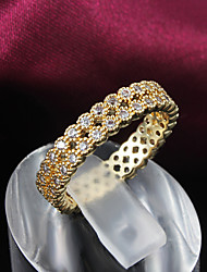 Party Gold Plated Statement Ring Wedding Rings for Men And Women Trendy Rings