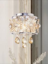 Modern Clear Sphere Lustre Crystal Chandelier Ceiling Lamp Home Decor Suspension Pendant Lamp Fixture Light