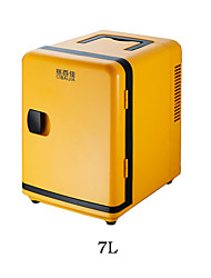 Keats Top 7 Liters Vehicle Electronic Refrigerator Cold Hot Amphibious Model Mini Refrigerator Car Home Dual-use
