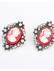 Abby Women'S Temperament Of Europe And The United States To Restore Ancient Ways The Pictures Stud Earrings