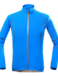 KOSHBIKE/KORAMAN® Cycling Jersey Men's Long Sleeve BikeBreathable / Quick Dry / Ultraviolet Resistant / Compression / Lightweight