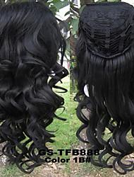 22inch long wig heat-resistant half wig curly wig