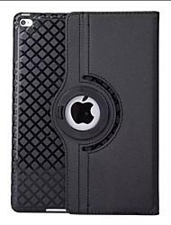 Rotation de 360 degrés 9,7 pouces motif de couleur solide avec boîtier de support pour iPad air / ipad 5 (couleurs assorties)